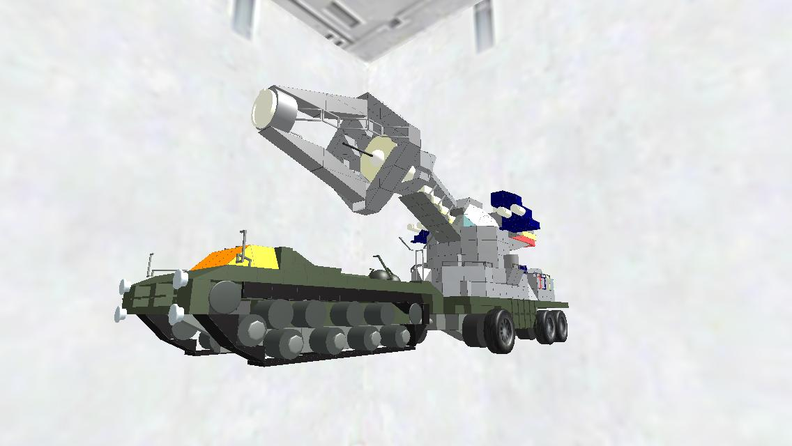 Type66 Anti-Kaiju Maser Tank