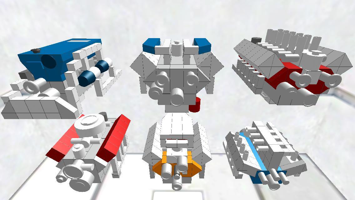 engine sample pack