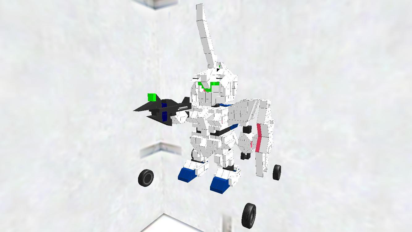 SD UnicornGundam 戦闘モード