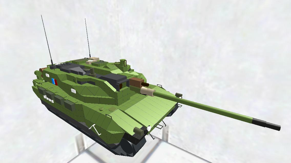 AMX-56 Leclerc 再再改装