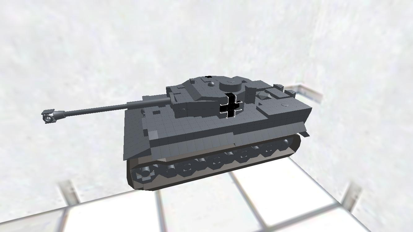 Tiger I ディティールちょいアップ版