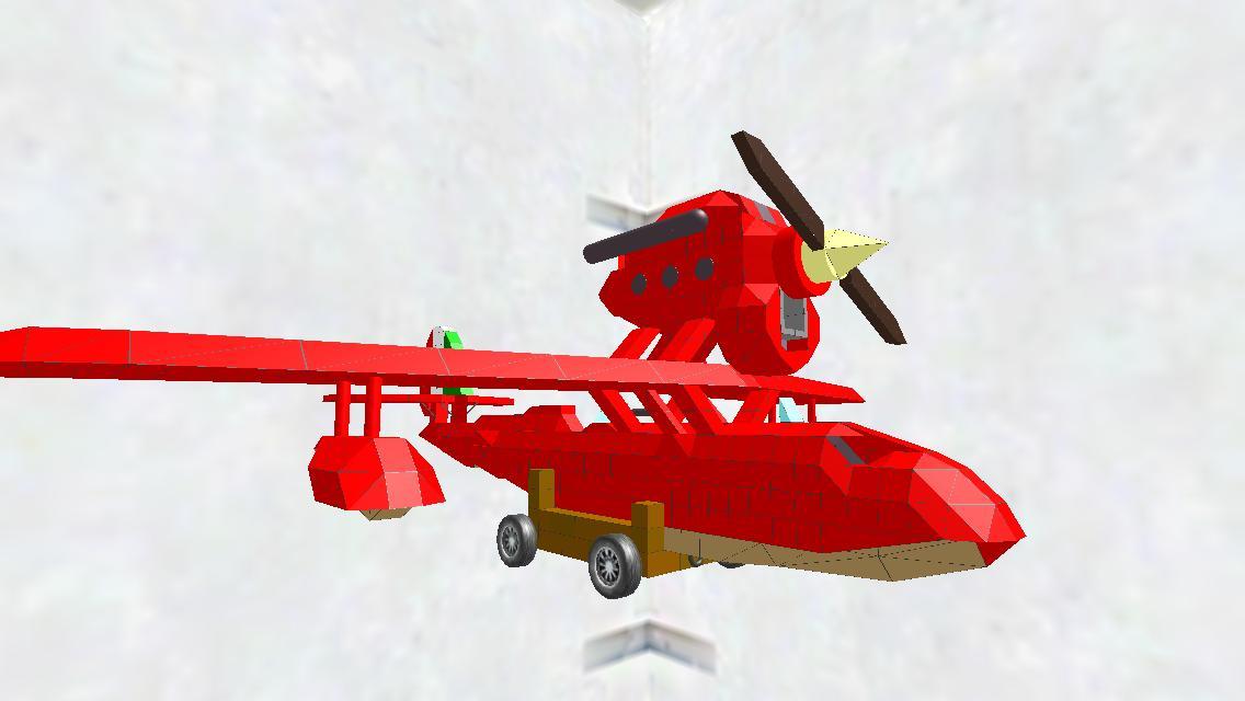 SAVOIA S.21F 試作戦闘飛行艇(台車付き)