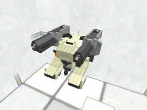 モビルワーカー 最新型 武装・タイヤあり 一部装甲アリ
