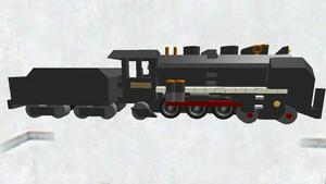 蒸気機関車(テンダー式)