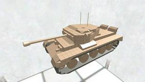 A34 Comet巡航戦車 ディティールちょいアップ版