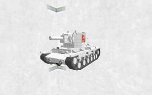 KV-2 自走可