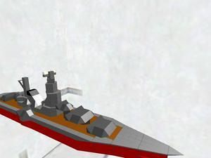 日本風戦艦(改)