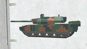 AMX-56 Leclerc ディテールちょいアップ版