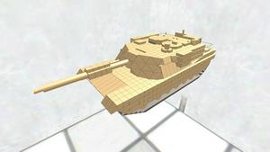 M1A2 Abrams ディテールちょいアップ版
